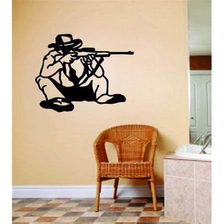 Living Room Art Hunting Boys Room Hunter Gun Home 8 X 12 Inches