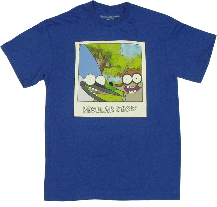 Regular Show Polaroid T Shirt