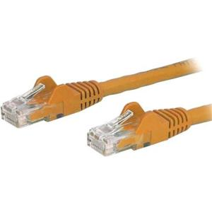 StarTech 14ft Cat6 UTP Ethernet Snagless Patch Cable - Orange