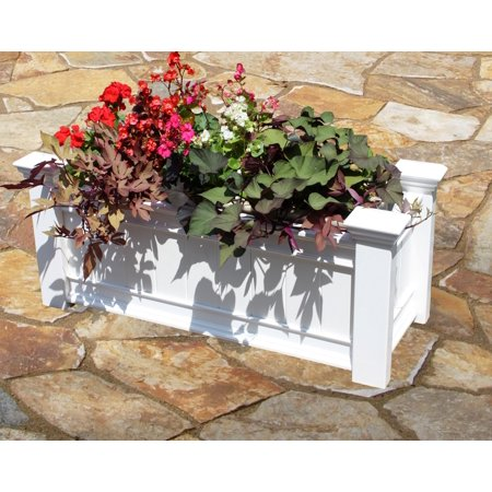 Windsor Long Planter Box](Wood Planter Boxes)