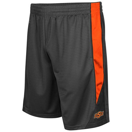 Oklahoma State Cowboys Colosseum Turnover Shorts - Charcoal