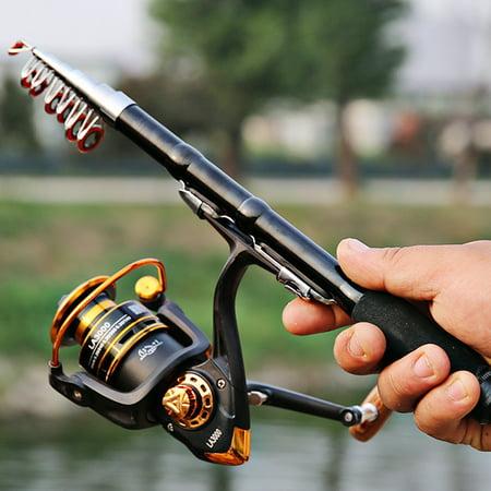 Portable Mini Telescopic Fishing Rod 1 0m 2 Retractable