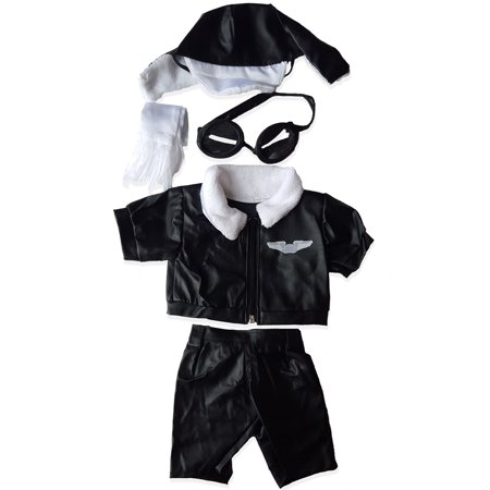 Pilot Wings Teddy Bear Clothes Outfit Fits Most 14