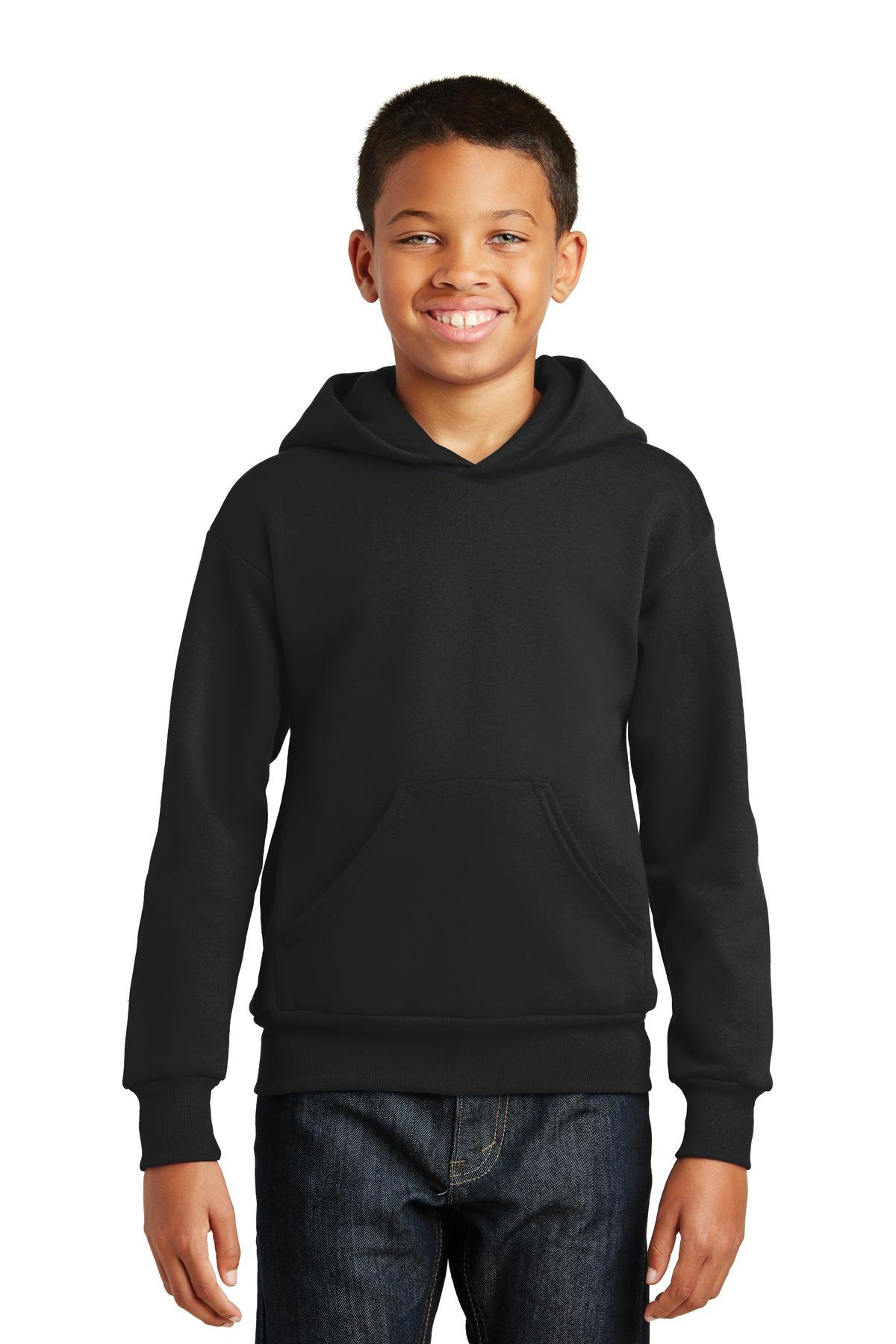 Hanes Youth EcoSmart Pullover Hooded Sweatshirt