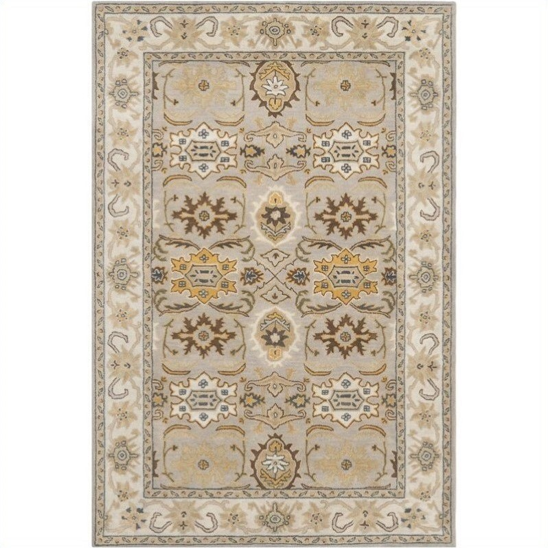 Safavieh Heritage Accent Rug in Light Grey / Grey