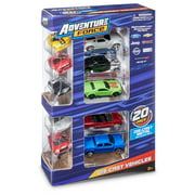 Adventure Force Die-Cast Vehicle Assortment, 20 Pack (Colors & Styles May Vary)