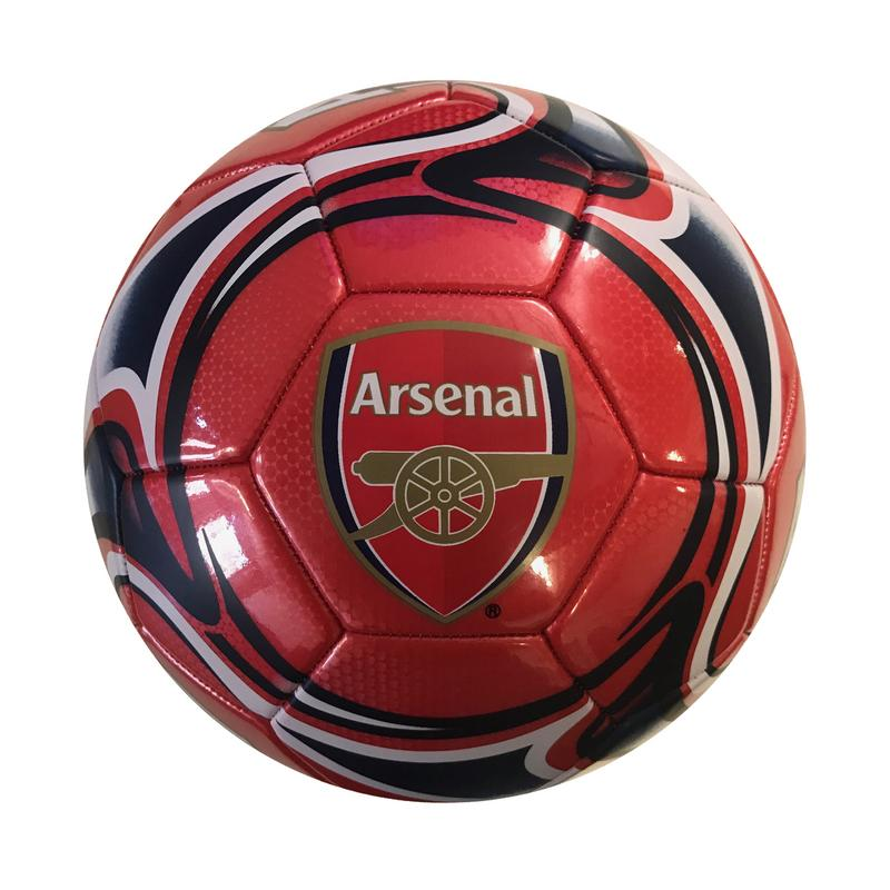 ARSENAL Official Licensed Regulation Soccer Ball Size 5 by ICON Sports