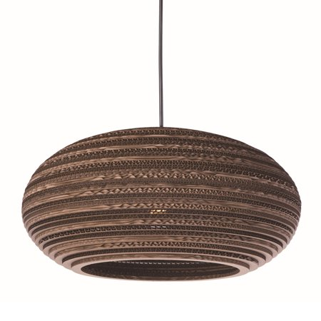 """Maxim 9105 1-Light 17"""" Wide Pendant from the Java Collection"""