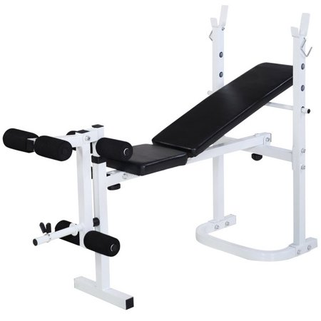 Adjustable Weight Bed Multi-Station Abdominal Arm Muscle Sit Up Bench Gym Exercise Workout Fitness (Best Multi Station Home Gym)