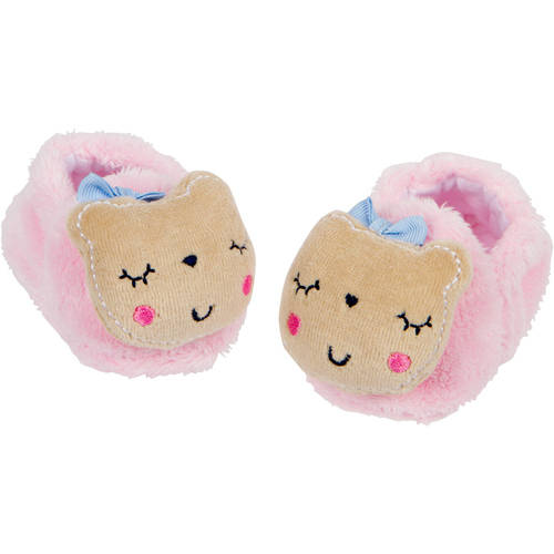 92335fa1294 Check Inventory. Newborn Baby Girl Non-Skid Velboa Bootie Slippers