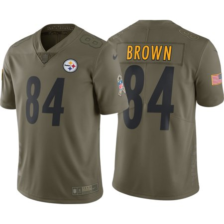 Nike Men s Home Limited Salute to Service Pittsburgh Steelers Antonio Brown   84 Jersey - Walmart.com 6121627ba