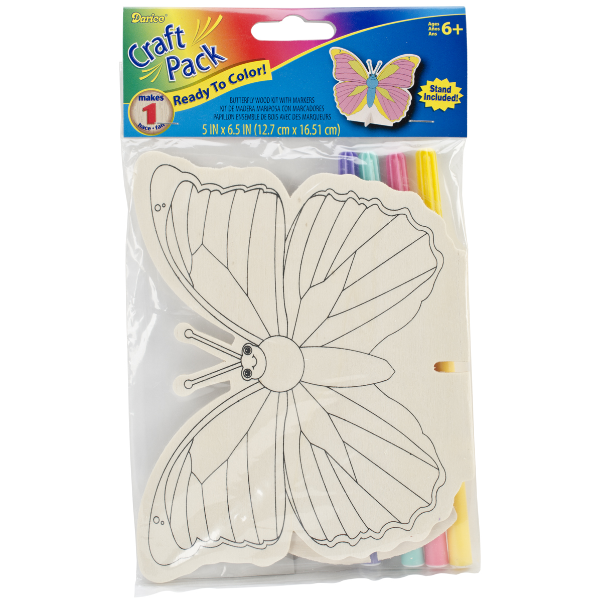 Wood Craft Pack-Butterfly