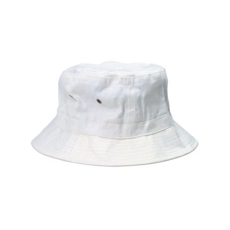 White Popeye Gilligan Sailor Captains Navy Fishing Marine Costume Bucket Hat (Captins Hat)