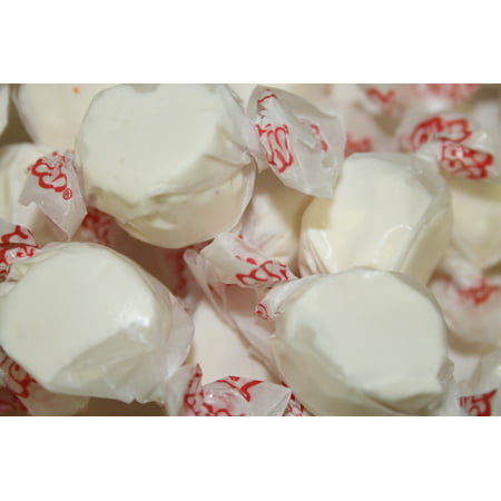 BAYSIDE CANDY SALT WATER TAFFY VANILLA, 1LB](Salt Candy)