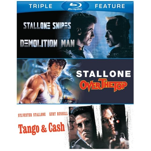 Sylvester Stallone Triple Feature: Demolition Man / Over The Top / Tango & Cash (Blu-ray)