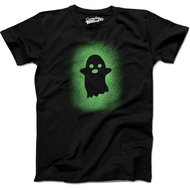 Dog Halloween T Shirts.Crazy Dog T Shirts Glowing Ghost Glow In The Dark Shirt Scary Halloween T Shirt Cool Costume Tee Graphic Tees Walmart Com Walmart Com