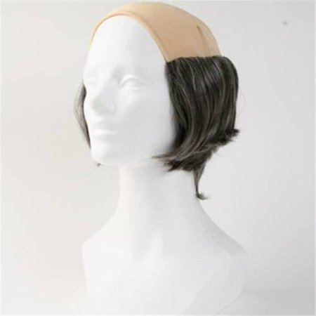 Lacey Wigs LW683MBN Bald Short Tramp Wig, No. 4 Brown - Medium