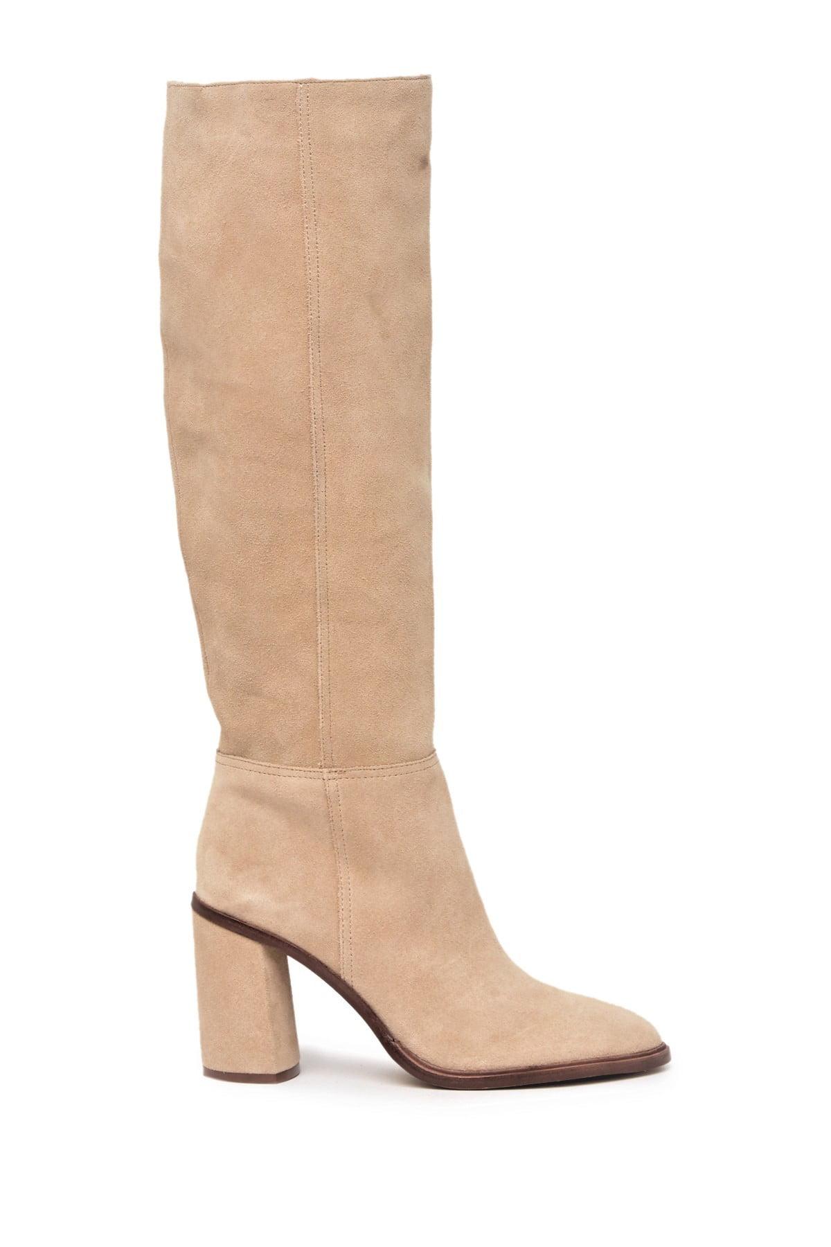 beige dress boots