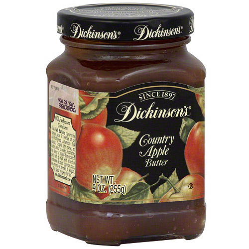 Dickinson's Country Apple Butter, 9 oz (Pack of 6)