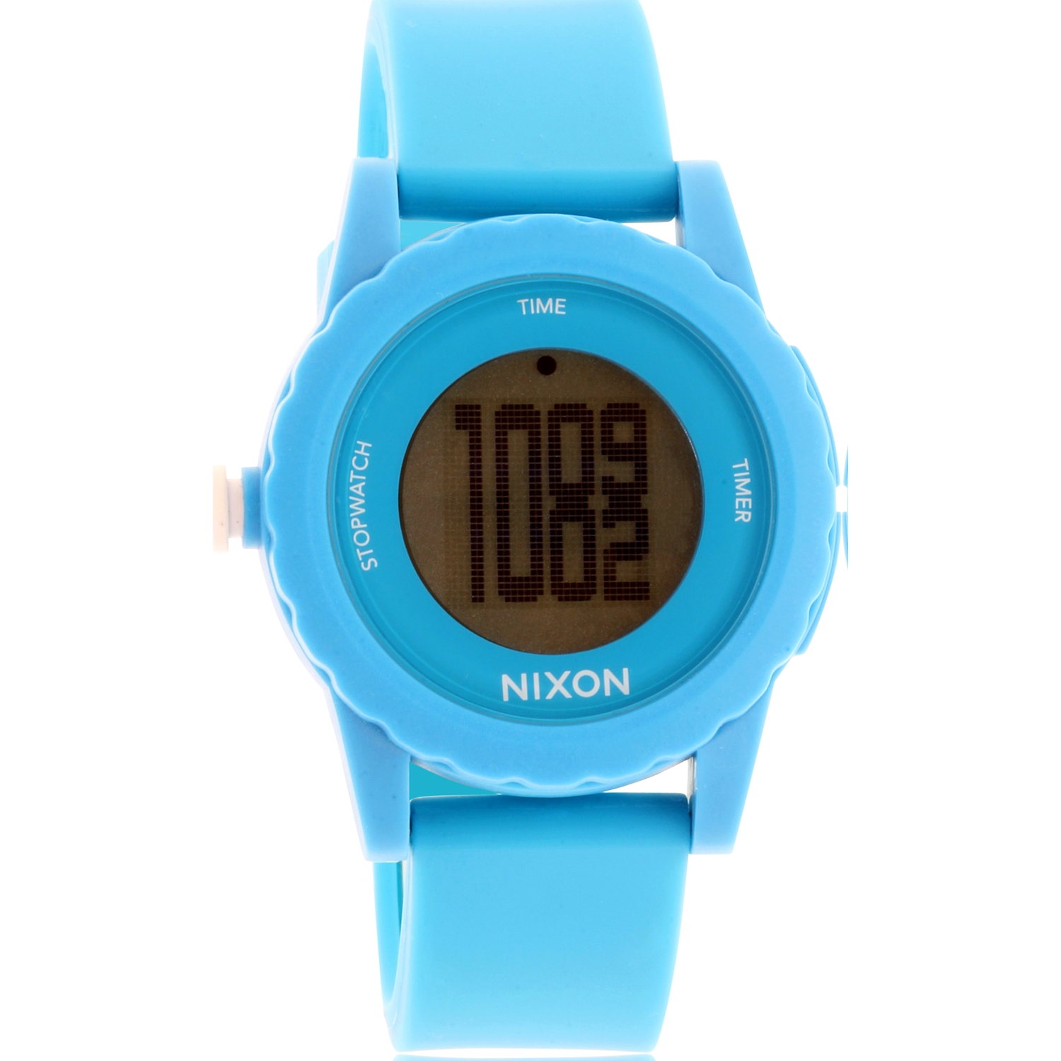 Nixon Women's Genie A326917 Blue Silicone Quartz Watch