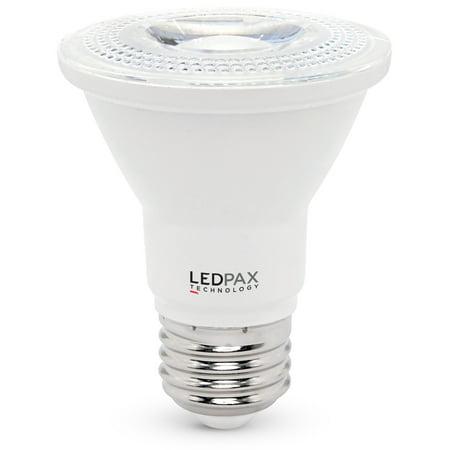 PAR20 Dimmable LED Bulb, 7W (50W equivalent), 4000K , 470 Lumens, CRI 90, 1 Pack, UL, ES Certified, 4 (7w Par20 Led)