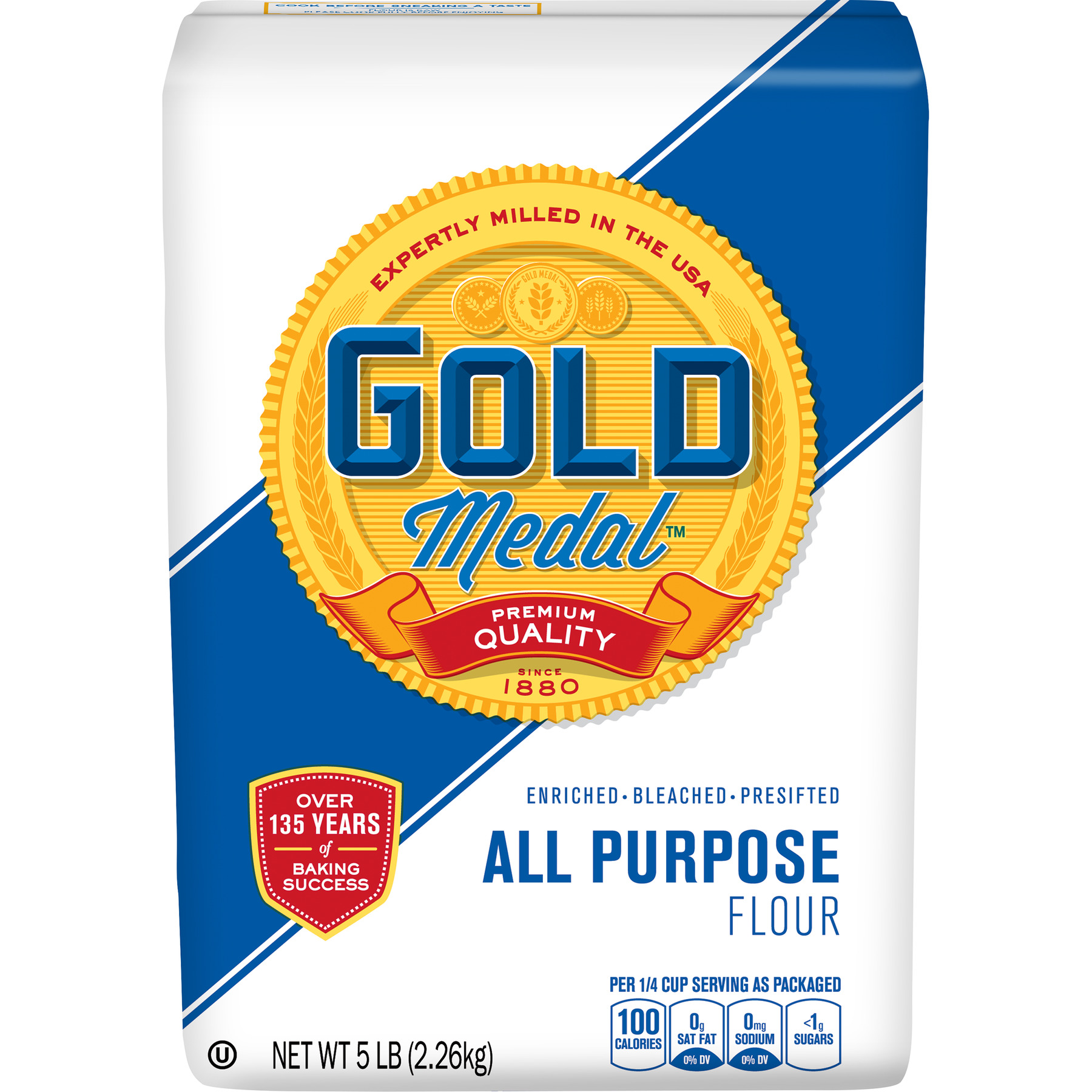 Gold Medal Flour All-Purpose, 5 lb Bag