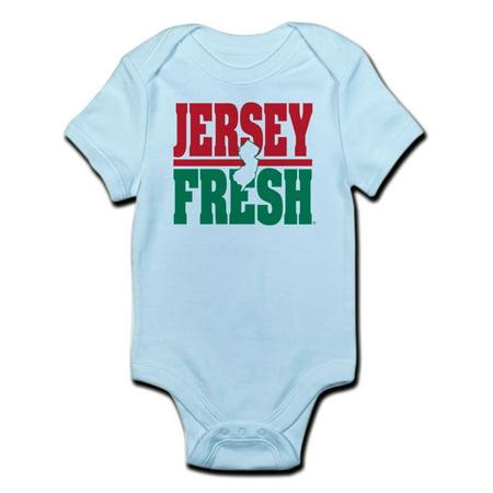 CafePress - Jersey Fresh Infant Body Suit - Baby Light Bodysuit Baby Infant Jersey Style Onesie