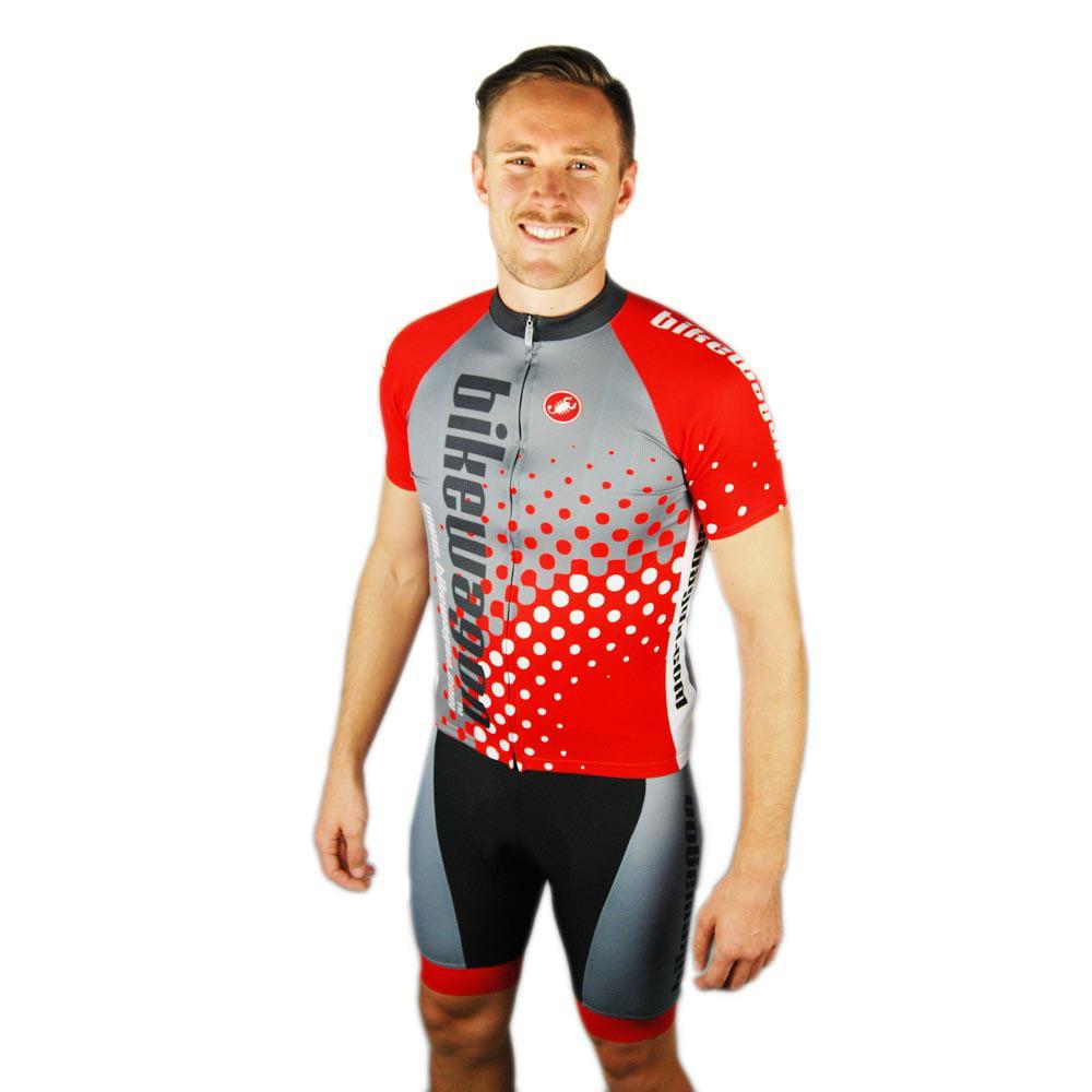 Bikewagon Castelli Team Cycling Jersey FZ Small