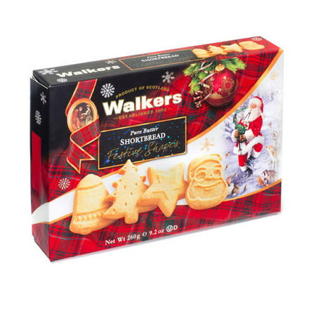 Walkers Pure Butter Holiday Shortbread Gift 9 2 Oz
