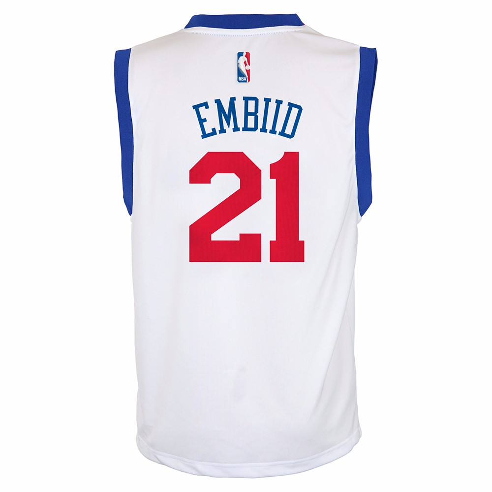 new arrival c0cfb 45697 italy joel embiid youth jersey 703a4 024da