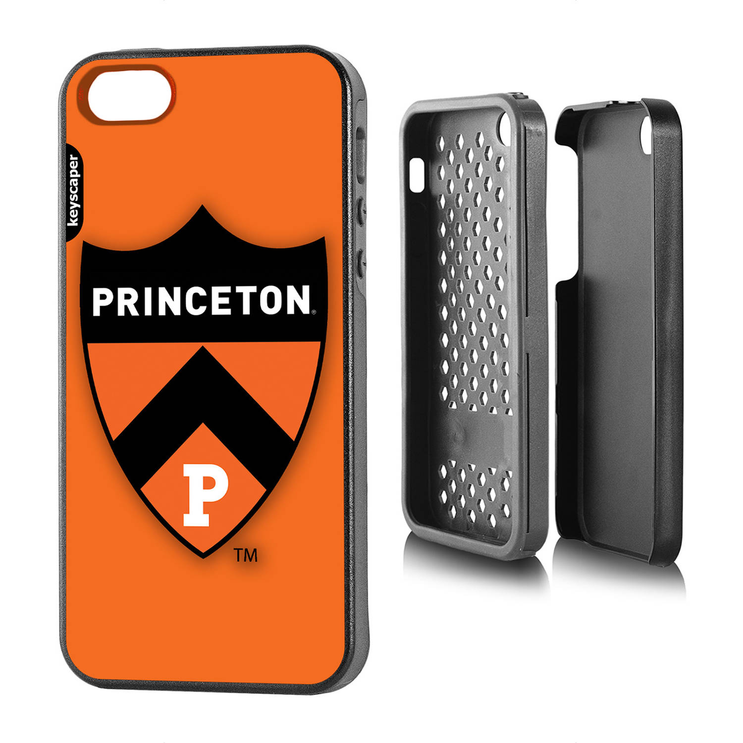 Princeton Tigers Apple iPhone 5 5s Rugged Case by Keyscaper