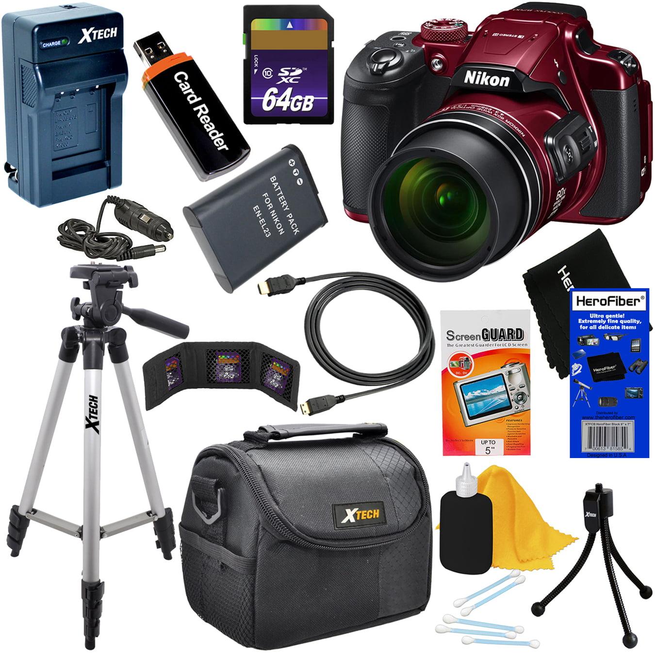 Nikon COOLPIX B700 Wi-Fi, NFC Digital Camera with 60x Zoo...