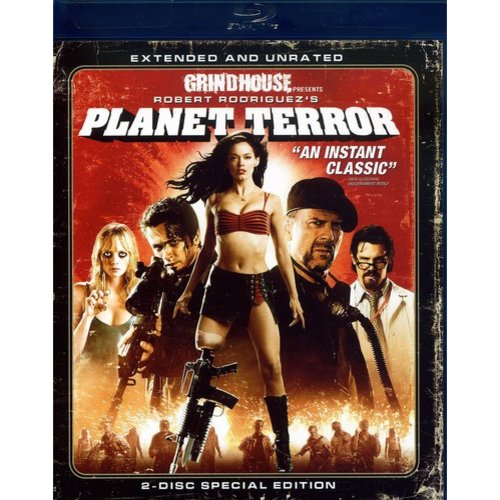 Planet Terror (Blu-ray) (Unrated) (Widescreen)