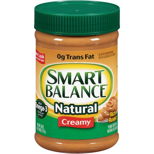 Smart Balance Rich Roast All Natural Creamy Peanut Butter & Natural Oil Blend, 26 oz