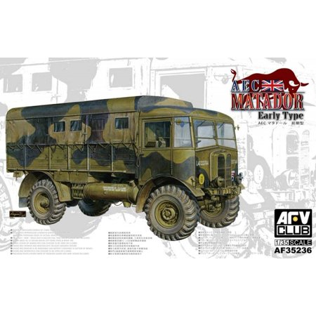 Afv35236 1 35 Afv Club Aec Matador Early Type  Model Building Kit