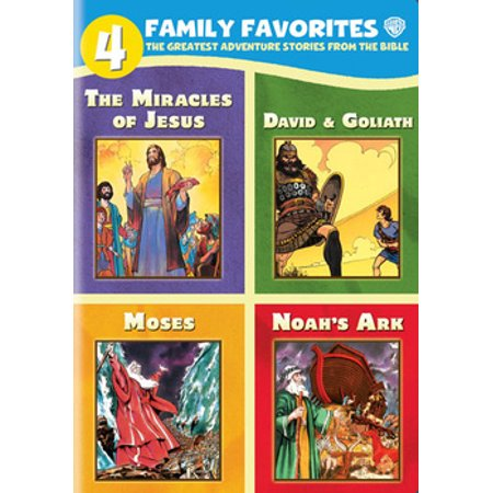 4 Family Favorites: Greatest Adventures of the Bible (DVD) - Halloween Adventure Family Farm