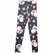 Womens Rudolph Red Nosed Reindeer Santa Claus Christmas Holiday Leggings