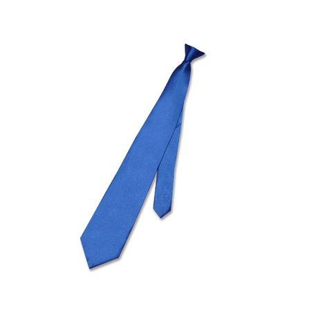 299fb25e8f47 Biagio - Biagio CLIP-ON NeckTie Solid ROYAL BLUE Color Men's Neck Tie -  Walmart.com