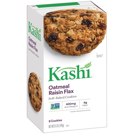 Kashi Oatmeal Raisin Flax Cookies  8 5 Oz