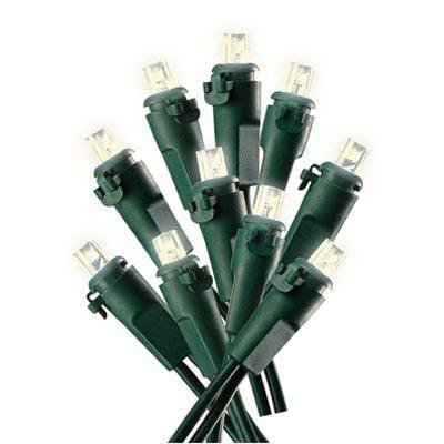 47922-88A Christmas LED Light Set, Micro, Warm White, 70-Ct. - Quantity 1 Micro Christmas Lights