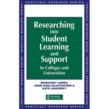 - Researching into Student Learning and Support in Colleges and Universities - eBook