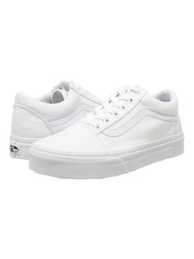 e888818804a7c4 Vans Old Skool Canvas Classic Skate shoe Unisex Sneakers True White US Men  13 - Women
