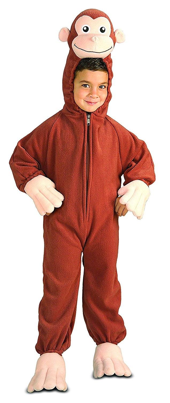 Rubie's Costume Curious George Fleece Child's Costume, Medium by Rubie's
