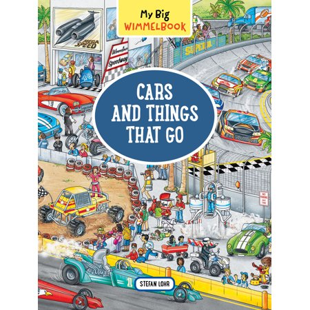 My Big Wimmelbook—Cars and Things That Go - Boardbook