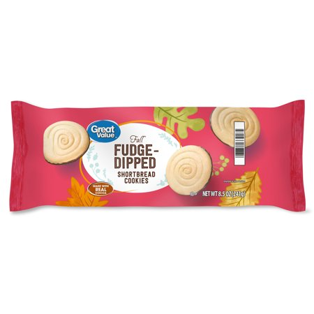Great Value Fudge Dipped Shortbread Cook