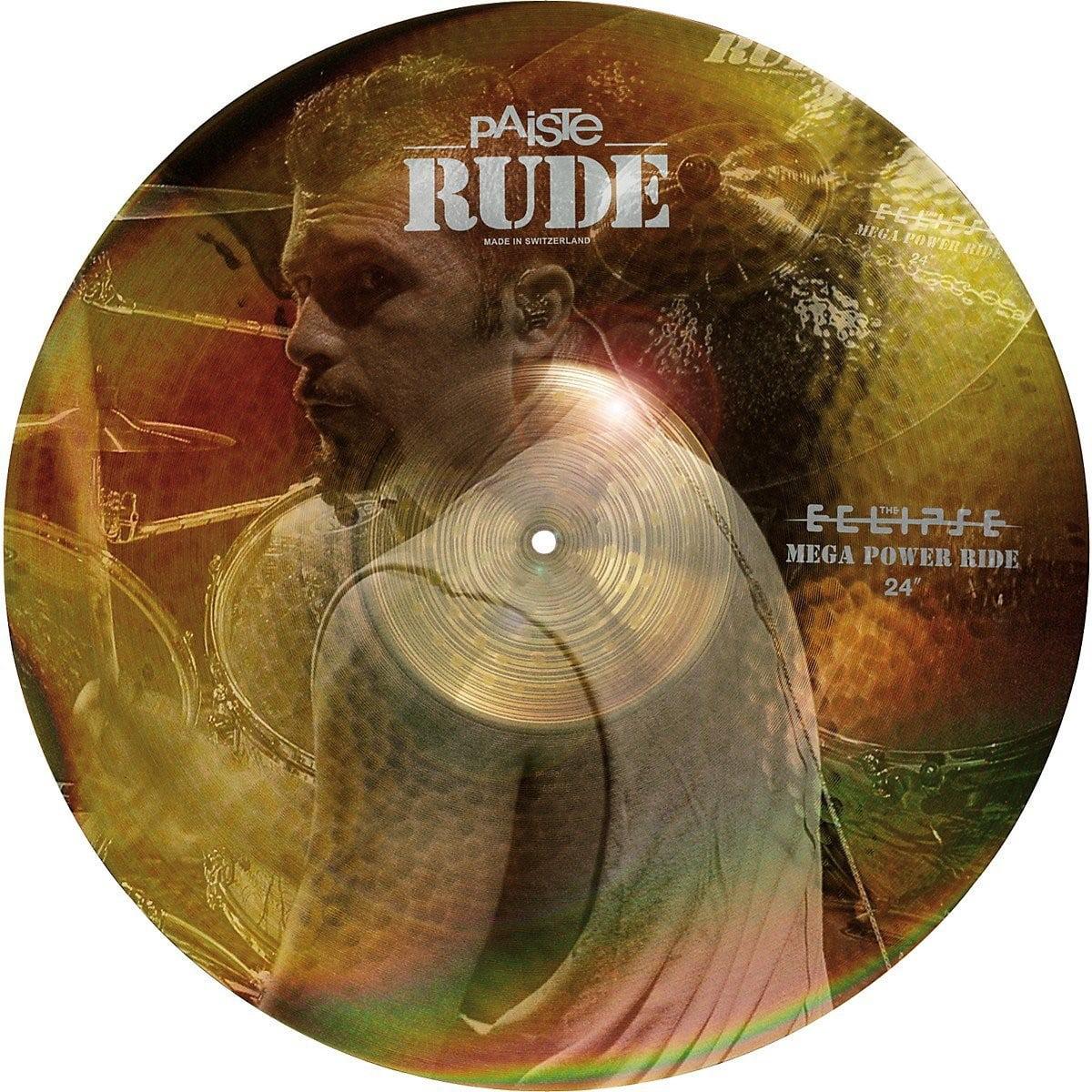 "Paiste Rude Mega Power Ride Cymbal 24"" by Paiste"