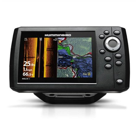 Humminbird Helix 5 G2 CHIRP SI/GPS Combo 5 Color Fishfinde w/Transducer (Helix 5 Chirp Si Gps G2 Review)