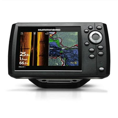 Humminbird Helix 5 G2 CHIRP SI/GPS Combo 5 Color Fishfinde w/Transducer 410230-1 (Humminbird Combo Gps)