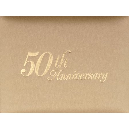50th Anniversary Guest Registry Book