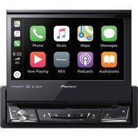 "Pioneer AVH-3500NEX - 1-DIN Multimedia DVD Receiver with 6.8"" WVGA Display, Apple CarPlay™, Android Auto™, Built-in Bluetooth®, and SiriusXM-Ready™"
